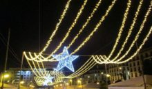 Caminhando na Rota das Luzes de Natal
