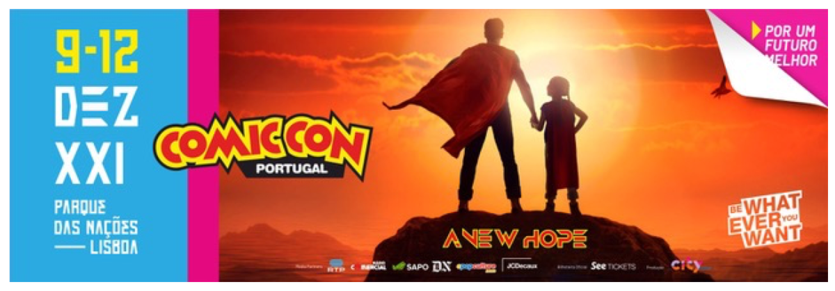 7 ª edição da Comic Con Portugal