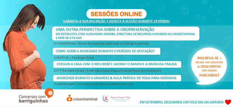 Conversas com Barriguinhas - Sessão online 28 setembro