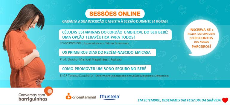 Conversas com Barriguinhas - Sessão online 30 setembro